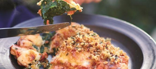 Lasagne Met Krokante Eend Uit Comfort Food Van Jamie Oliver recept | Smulweb.nl
