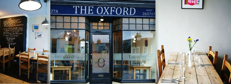 The Oxford Whitstable | Restaurant in Whitstable | Kent Restaurant