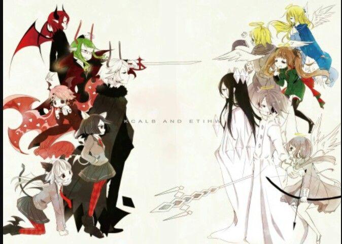серый сад картинки все персонажи узумаки вместе