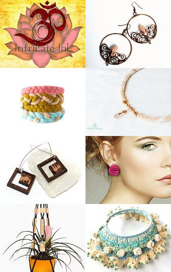 Summer hues by Monica on Etsy--Pinned with TreasuryPin.com