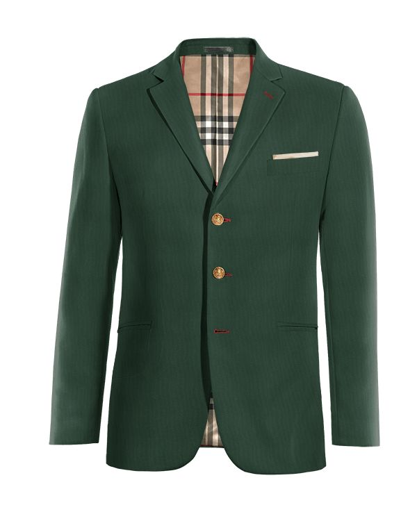 Green wool Blazer http://www.tailor4less.com/en/men/blazers/3968-green-wool-blazer