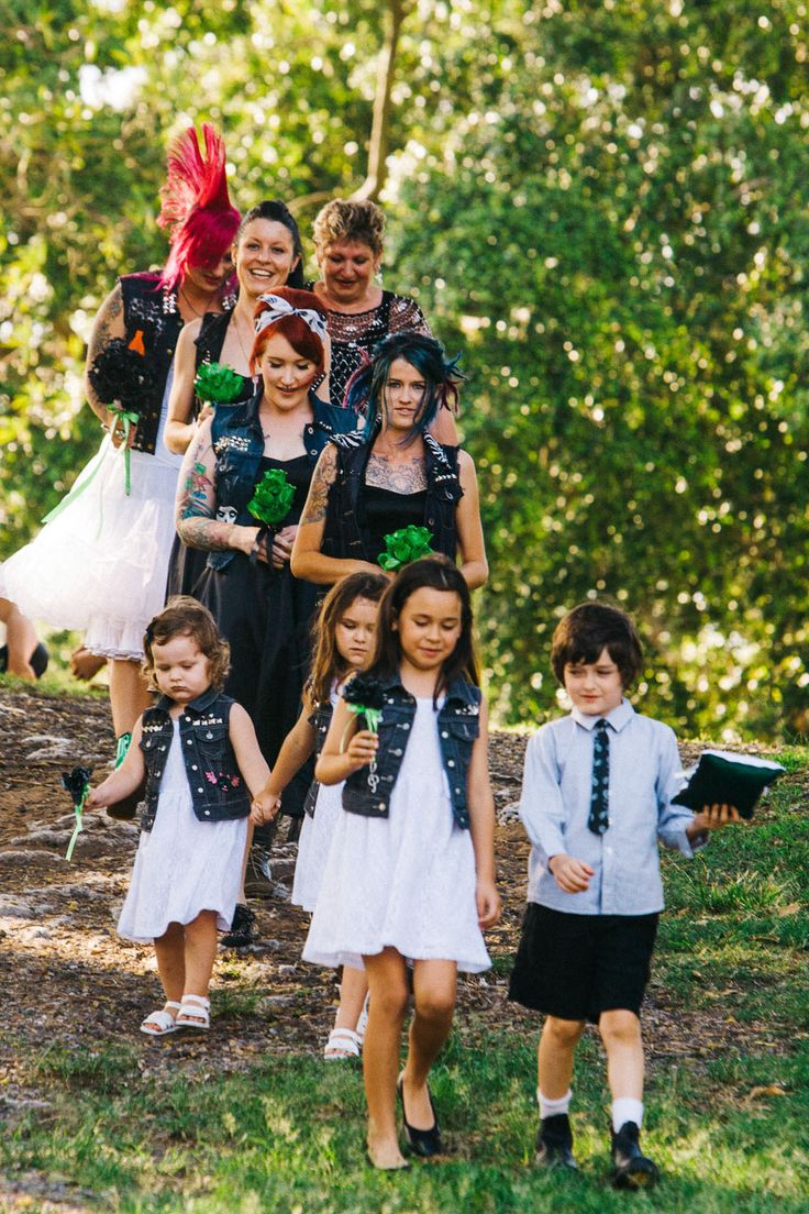 The Punk Wedding to End All Punk Weddings