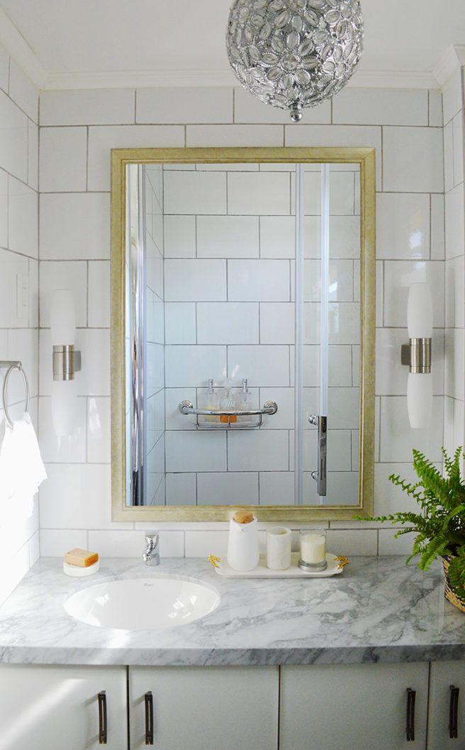 Boho bathroom decor