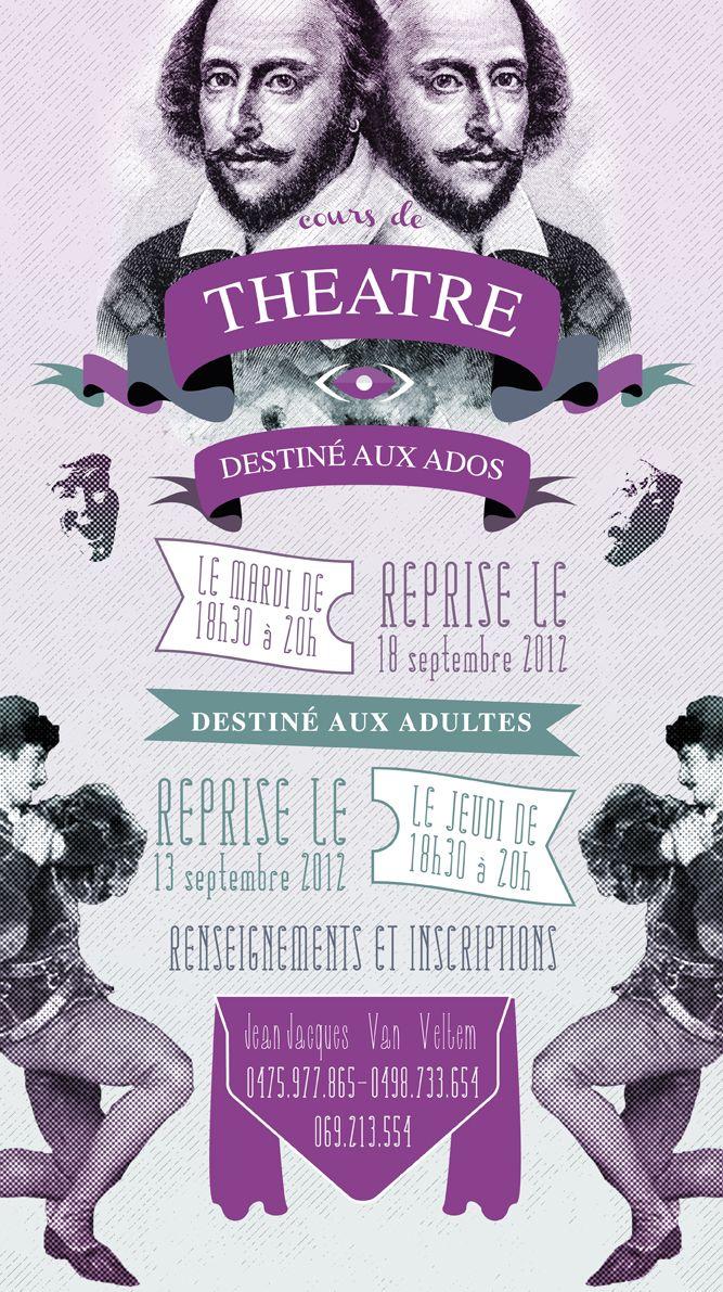affiche - théâtre Roméo & Roméo- ©Tom Delmarcel