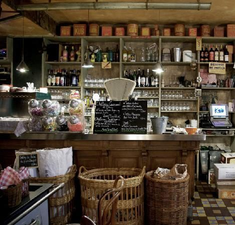 old fashioned shop style - L'Epicerie, strasbourg