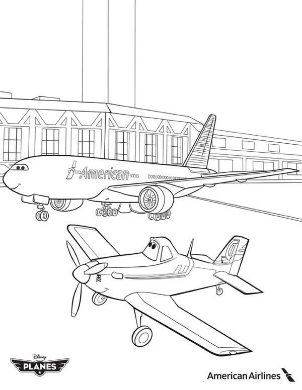 Dusty Crophopper Coloring Pages Dusty Airplane Coloring Pages Getcoloringpages In 2020 Airplane Coloring Pages Disney Planes Coloring Pages