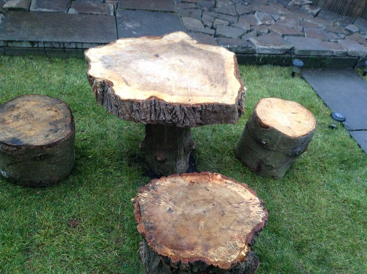 Our garden table made from tree trunks so simple and looks great and best  of all. 46 best Natural Edge Furniture images on Pinterest   Live edge