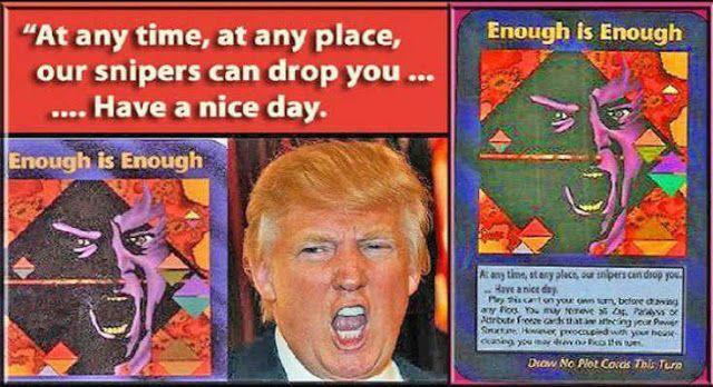 Θεωρίες συνωμοσίας: Η κάρτα των Illuminati που προβλέπει τον θάνατο του Τραμπ πριν τον Νοέμβρη...