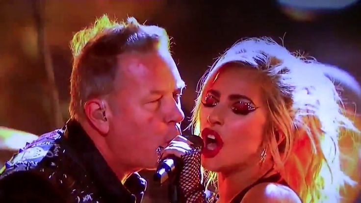 Lady Gaga & Metallica Moth into flame Live at 2017 Grammy Awards HD - YouTube