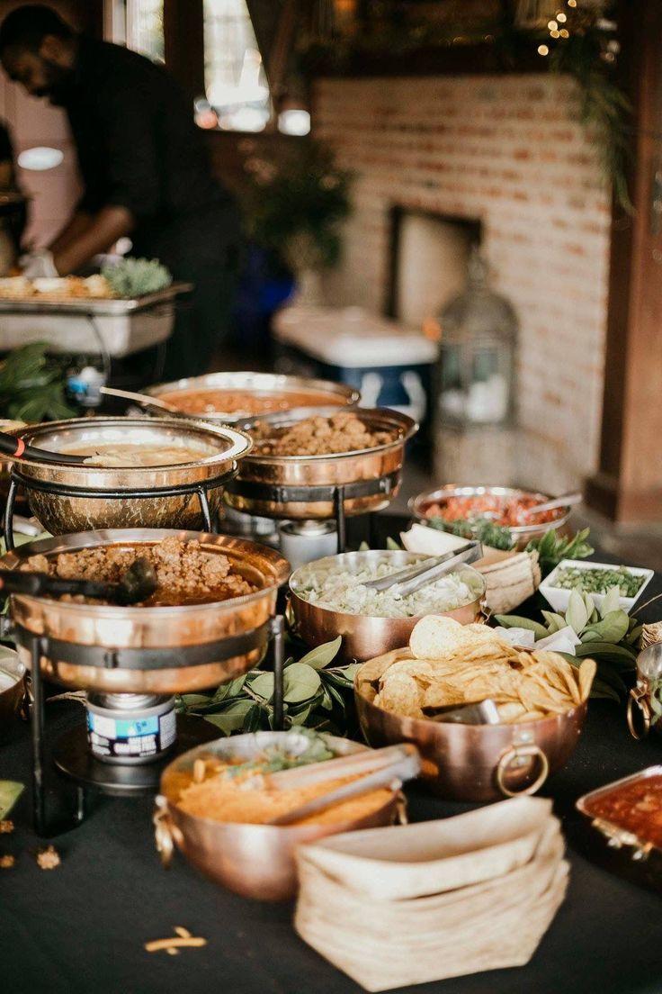 Nacho Bar Wedding Event in 2020 Taco bar wedding