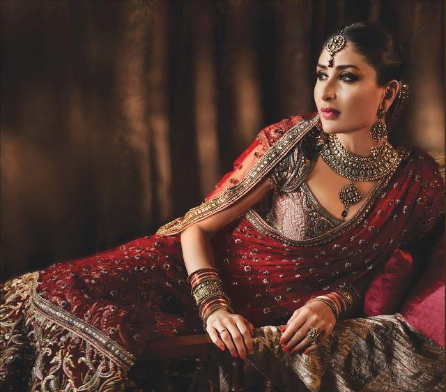Kareena Kapoor in  beautiful bridal dress photoshoot