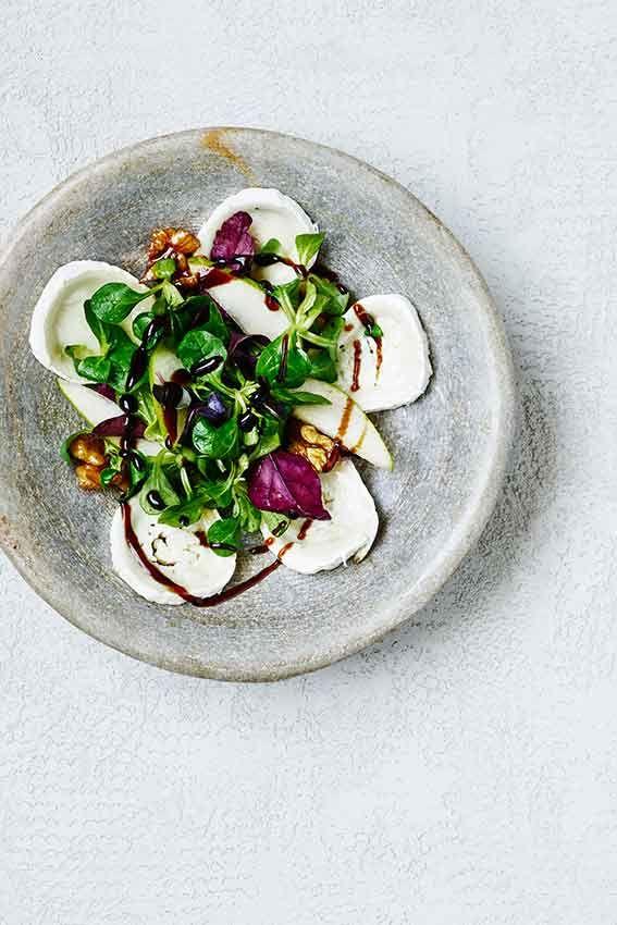Saláta kecskesajttal recept #ninivebutik #nicolasvahe #recept
