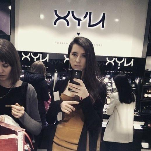 Магазин NYX против селфи