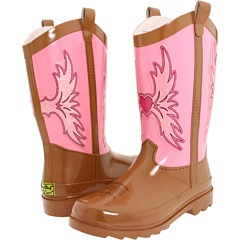 Yep, after looking and looking at pages of girl rainboots, we found the PERFECT pair for my lil' Texan!