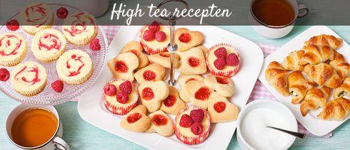 high tea recepten