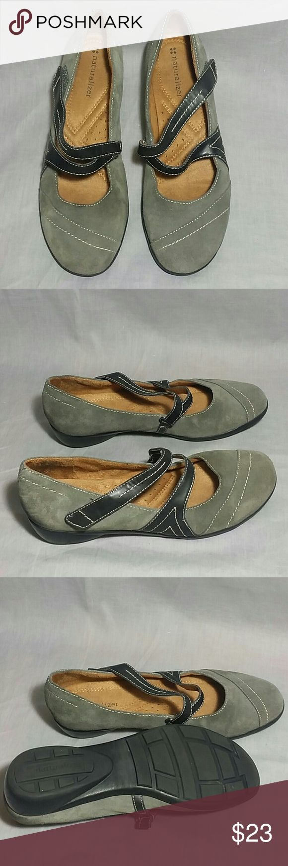 Women's Naturalizer Shoes Gray 7 M Leather Item is in a good condition NO PETS AND SMOKE FREE HOME. Naturalizer  Shoes