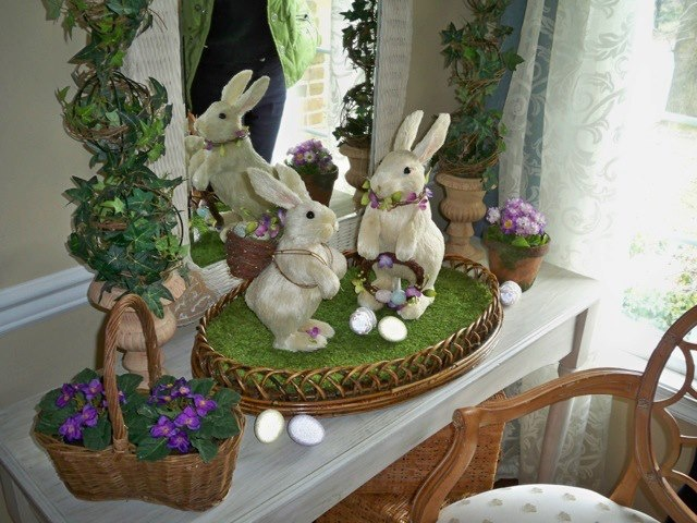 Adorable bunnies bring spring greetings, by Valerie Parr Hill