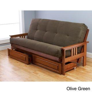Somette Beli Mont Multi-Flex Honey Oak Futon Set - Free Shipping Today - Overstock.com - 15151389 - Mobile