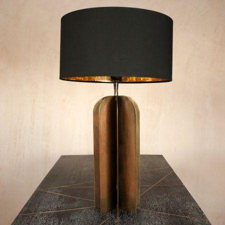 Metal junction table lamp lighting graham green