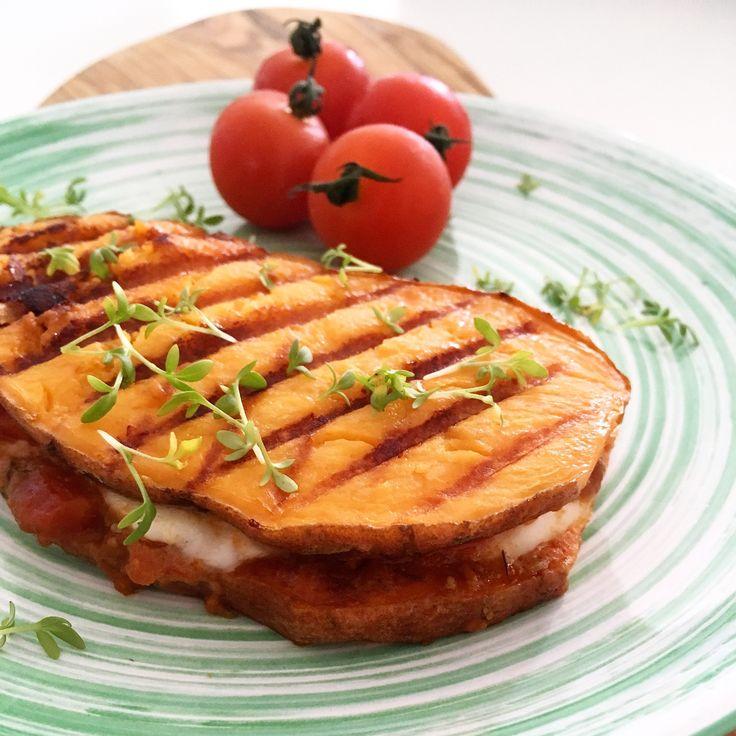 zoete aardappel tosti - www.foodiemarjan.nl