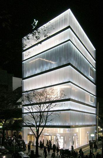 Dior Omotesando in Tokyo by Sanaa