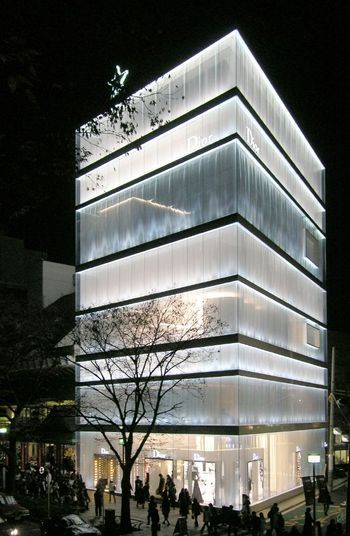 Dior Omotesando Tokyo. Richard Rogers