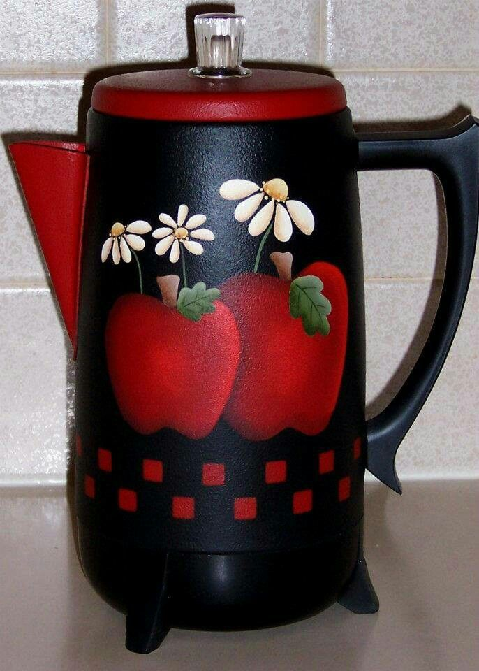 Apple Coffee Maker ~ Best images about apple decorations on pinterest