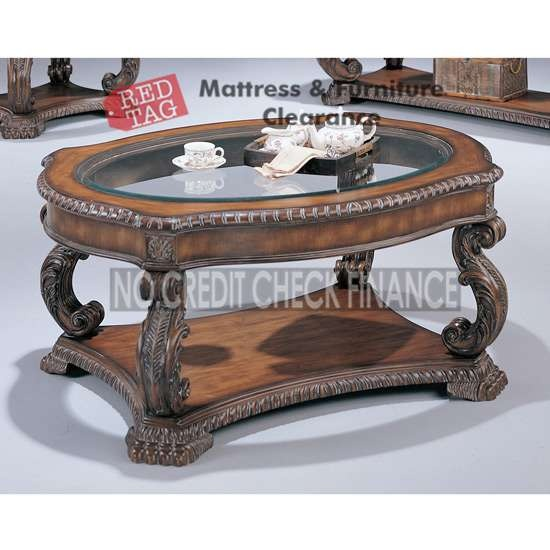 $369.99 Antique Finish Coffee Table 3892. The Antique Finish Coffee Table  By Coaster Manufactured In