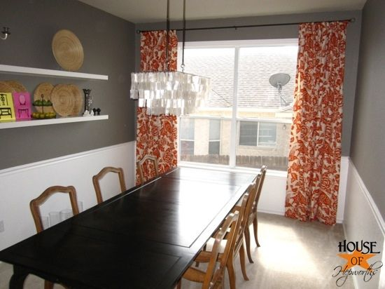 how to make an extra long curtain rod for really cheap