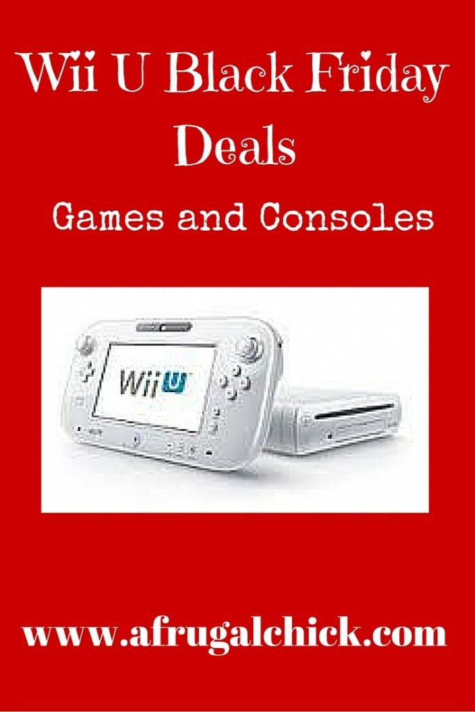 Black Friday Nintendo Wii U Deals Uk