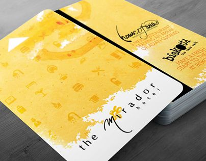"""Check out new work on my @Behance portfolio: """"Hotel Keycard"""" http://be.net/gallery/34217063/Hotel-Keycard"""