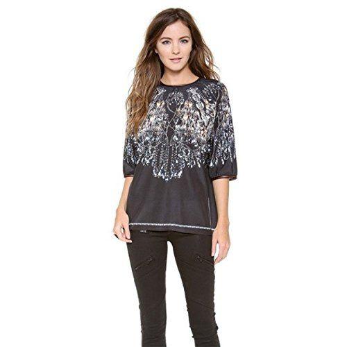 (クローバー キャニオン) Clover Canyon レディース トップス Tシャツ Chandelier Top 並行輸入品  新品【取り寄せ商品のため、お届けまでに2週間前後かかります。】 カラー:- 商品詳細1:Fabric: Crepe. 100% polyester. Han