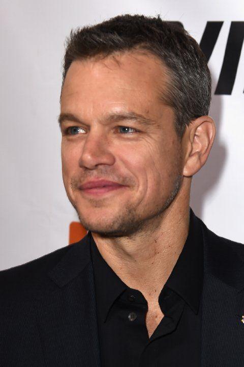 Matt Damon at event of The Martian (2015)