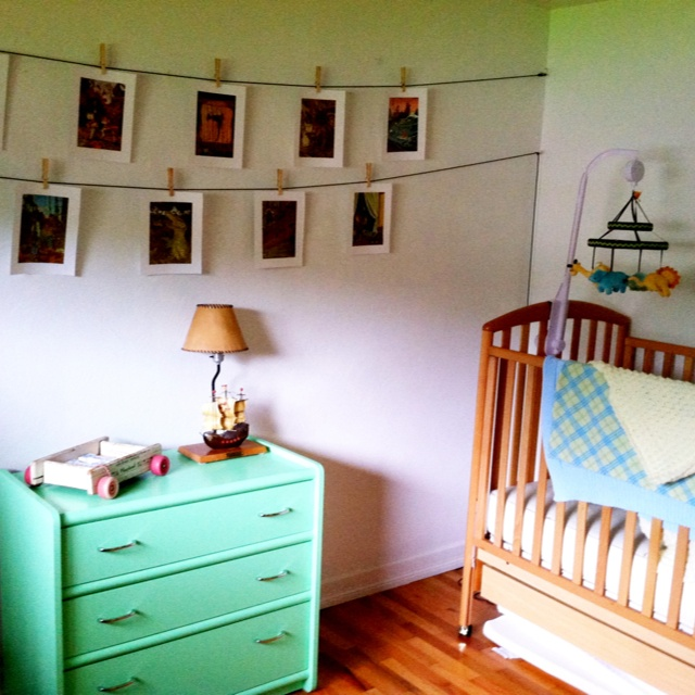 vintage peter pan nursery