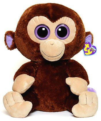 Coconut (large) - monkey - Ty Beanie Boos