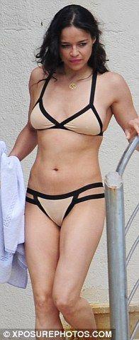 Apologise, but, Michelle madrigal nude bikini