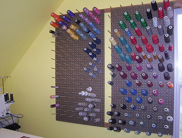 13 Best Craft Thread Storage Images On Pinterest Sewing Rooms