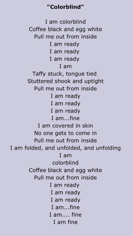 Three black crows poem