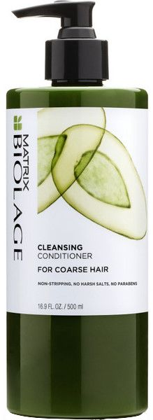 OVERVIEW This low-lather, fast rinsing, soap-free (no-poo shampoo) Cleansing Conditioner for coarse hair with Avocado provides thorough cleansing and deep conditioning to restore smoothness and manage