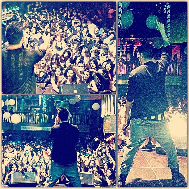 Last night was DOPE ! Thnx a lot Cyprus !! Ill see you all next week !