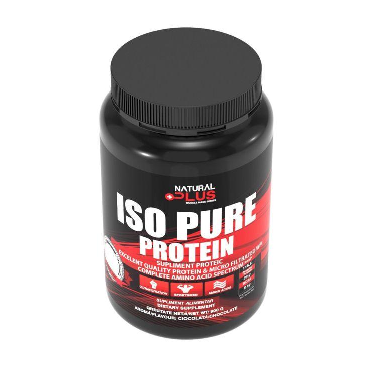 Proteine ISO PURE - aromă ciocolată