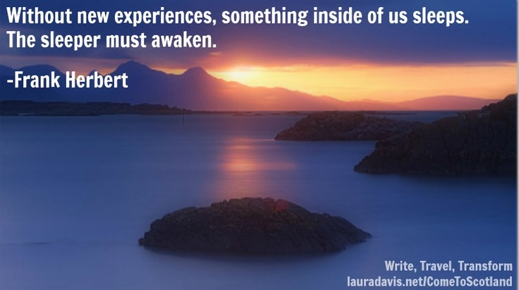 Join Laura Davis in Scotland for the Writer's Retreat of Your Dreams. August 2013. #Scotland #writing #retreat #travel #quotes #memoir