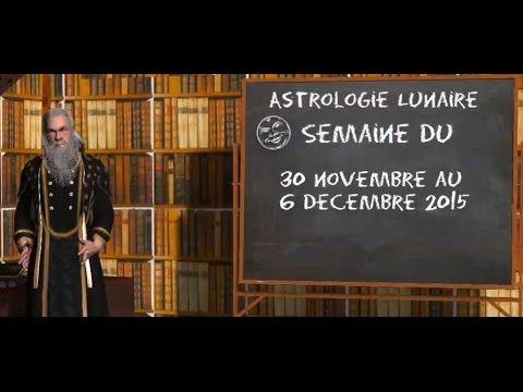 Astrologie Lunaire ☽ Général du 30 novembre au 6 décembre 2015