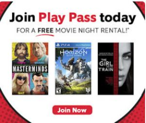 FREE Redbox Movie Rental with Redbox Play Pass on http://hunt4freebies.com