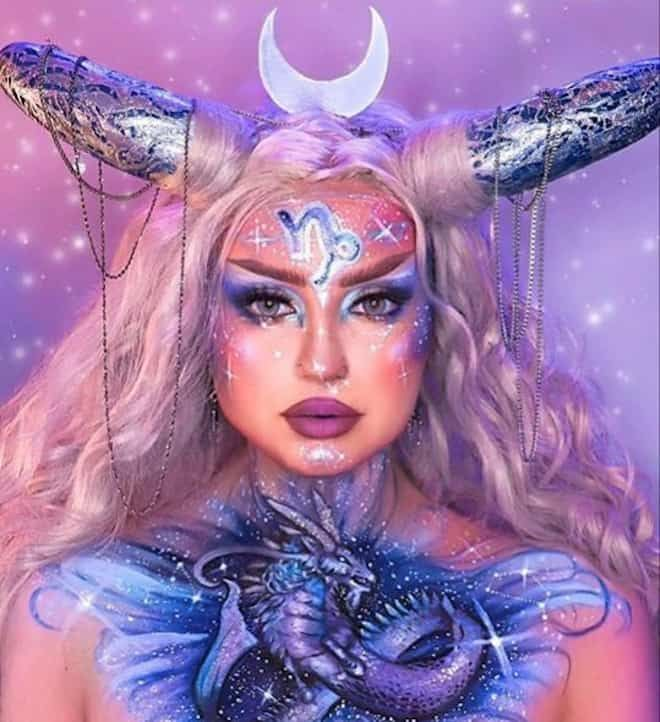 When Did The Halloween Update In 2020 Drop This Artist's Zodiac Makeup Looks Will Make Your Jaw Drop in 2020