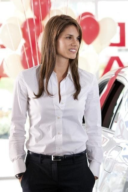 Still of Missy Peregrym in Rookie Blue all sorts of yes!