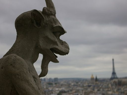 Gargoyles in English Architecture