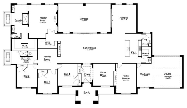 Mirage 51.2 - Floorplan by Kurmond Homes - New Home Builders Sydney NSW