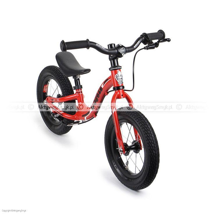 Czerwony rowerek biegowy Dawes Wobble