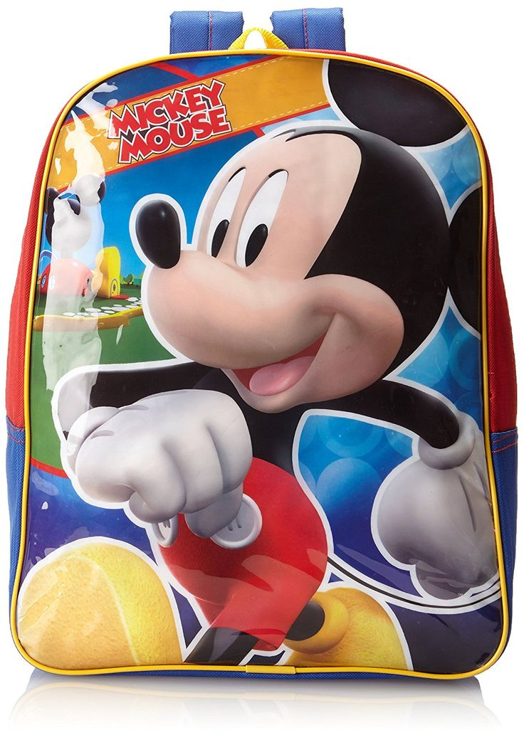 Disney Little Boys' Mickey Mouse Backpack -- You can get additional details at the image link. (This is an Amazon Affiliate link and I receive a commission for the sales)